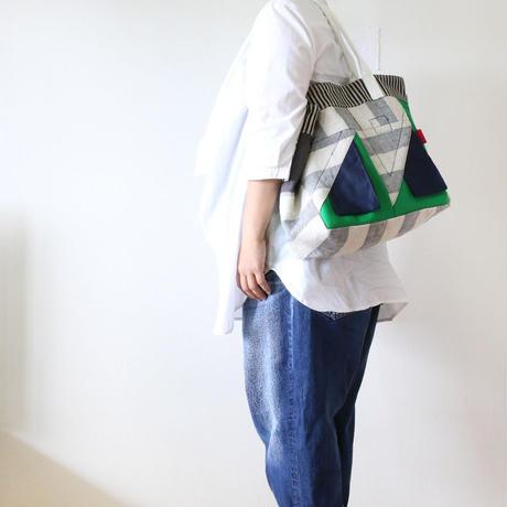 かたかけトート「Triangle」deux