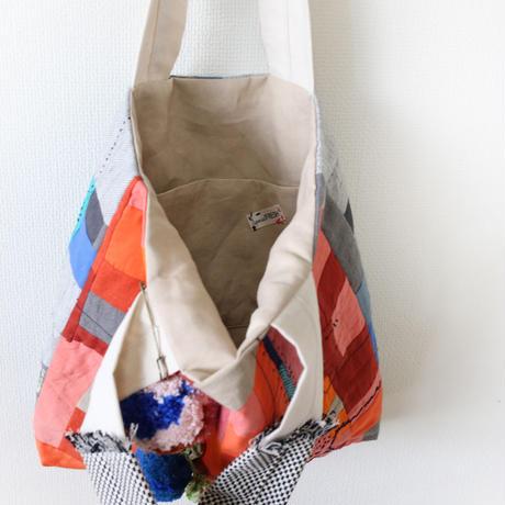 ちくちく2‐faced bag「O&G」再販2