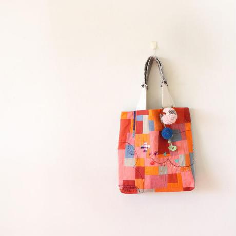ちくちく2‐faced bag「O&G」再販3