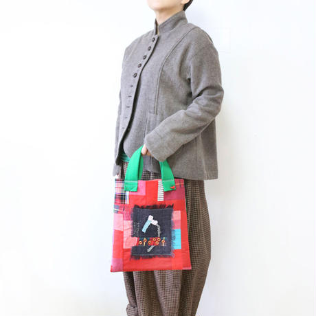 ぺたんこA4バッグ「a」