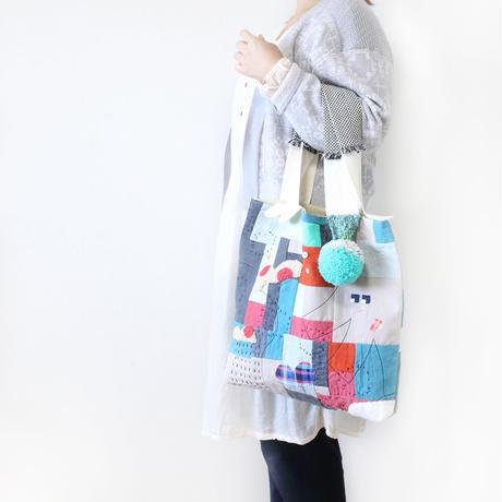 ちくちく2‐faced bag「mixG」再7