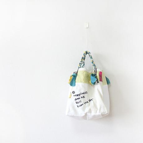 受注製作☆刺繍バッグ「イヌも歩けば」再販4