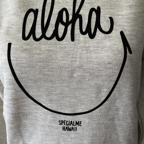aloha smile かぶりパーカー オートミール WOMEN'S