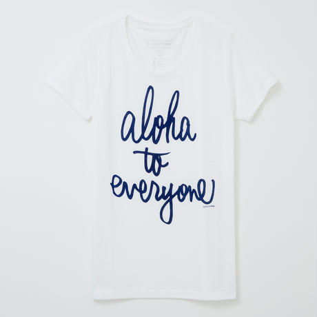 aloha to everyone ホワイト WOMEN'S