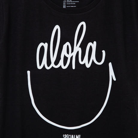aloha smile ブラック WOMEN'S