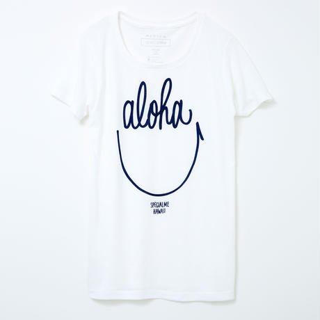 aloha smile ホワイト WOMEN'S