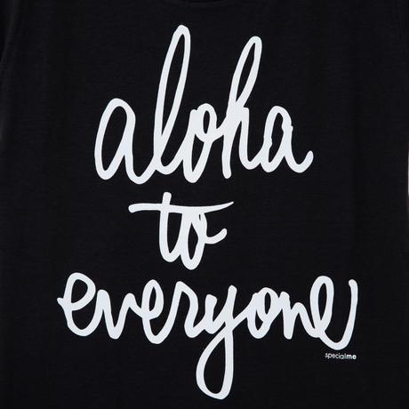 aloha to everyone ブラック WOMEN'S