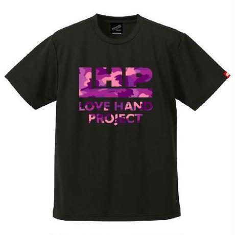 SPIDER/LHPハンドボールTシャツ SP-T09  ブラック×迷彩F