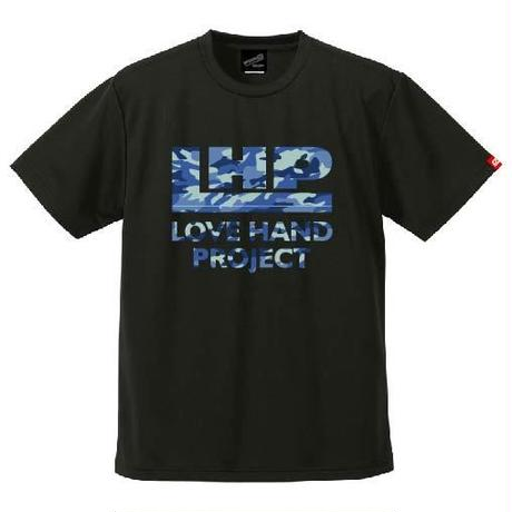 SPIDER/LHPハンドボールTシャツ SP-T09  ブラック×迷彩A