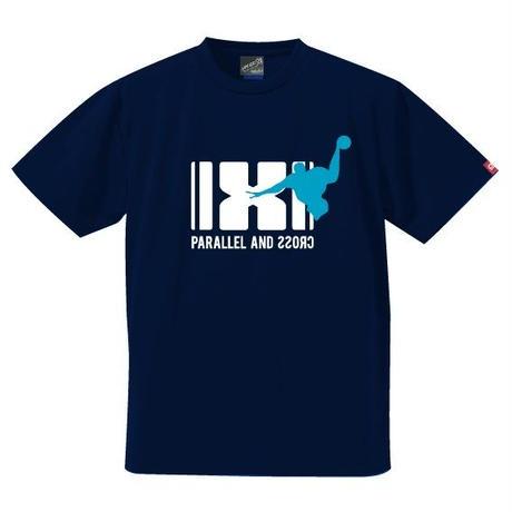 パラクロハンドボールTシャツ PCTS-03/ネイビー