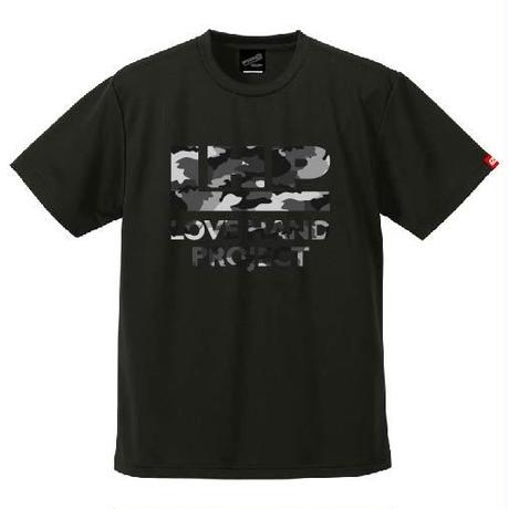 SPIDER/LHPハンドボールTシャツ SP-T09  ブラック×迷彩E