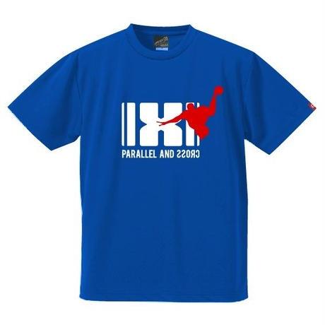 パラクロハンドボールTシャツ PCTS-03/ロイヤルブルー