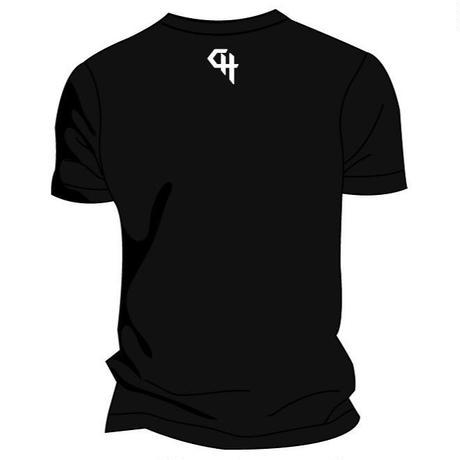 CRAZY HANDBALLER ドライTシャツ ブラック
