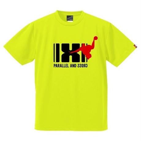 パラクロハンドボールTシャツ PCTS-03/ネオンイエロー