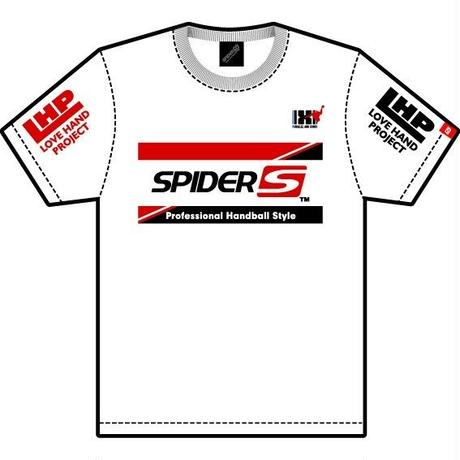 スパイダーハンドボールTシャツSP-TSL-WRB/ホワイト