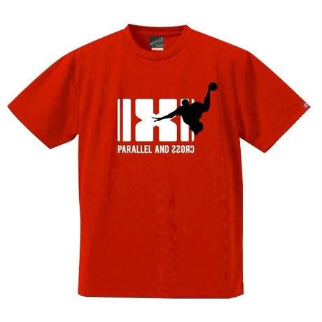 パラクロハンドボールTシャツ PCTS-03/レッド