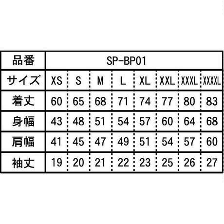 SPIDERボタンダウンポロシャツSP- BP01  ブラック×ホワイト×グリーン