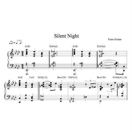 Silent Night - Piano Score (pdf file)