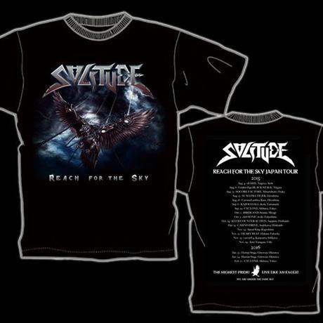 """SOLITUDE """"Reach For The Sky"""" Japan Tour  T-shirt"""