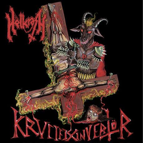 """HELLCRASH """"Krvcifix Invertör"""" (Japan Edition + obi)"""