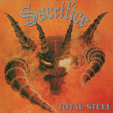"SACRIFICE ""Total Steel""(Japan Edition + obi + bonus cassete)"