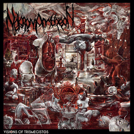"NEKROMANTHEON ""Visions of Trismegistos"" (Japan Edition + obi)+ Special Gift pin"