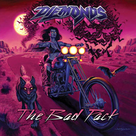 "DIEMONDS ""The Bad Pack""(Japan Edition + obi)"