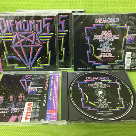 "DIEMONDS ""Diemonds""(Japan Edition + obi)"