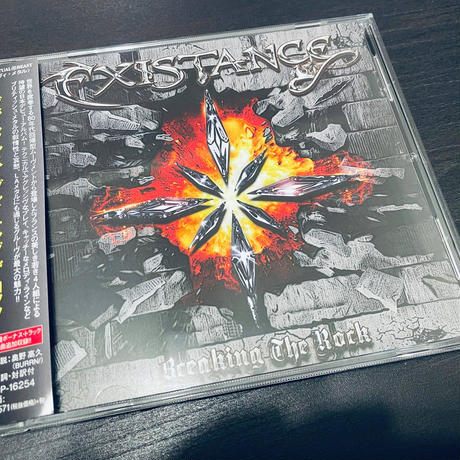 """EXISTANCE """"Breaking The Rock"""" (Japan Edition + obi)"""
