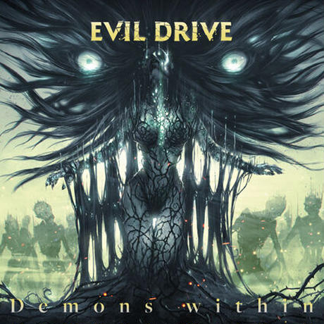 "EVIL DRIVE ""Demons Within"" (Japan Edition + obi)+ Special Gift-pin"
