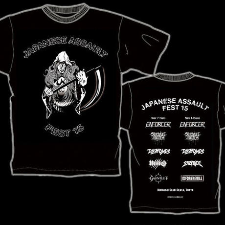 JAPANESE ASSAULT FEST 15 T-shirt