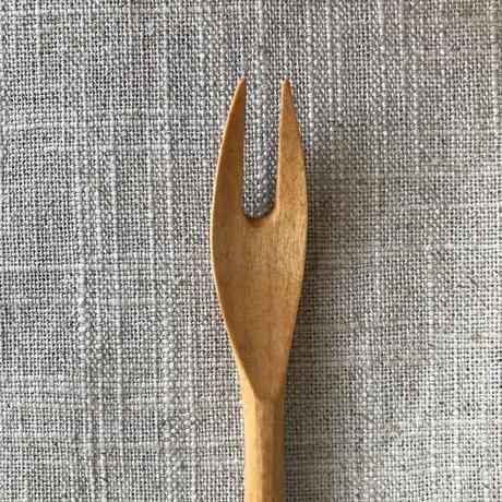山梨の木工職人 玄能さんのデザートフォーク