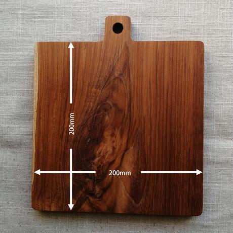 ピザプレート チーク材 天然木