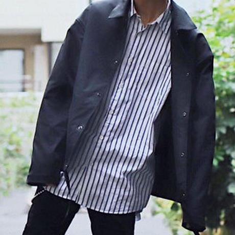 PEツイルコーチジャケット【ブラック】 L-36