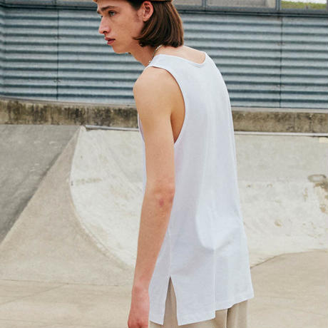 LAYERED TANK TOP【WHITE】 L116