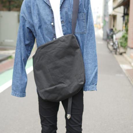 ソフトテンセルクロスサコッシュ【ブラック】  L-BAG-05