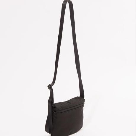 ソフトテンセルクロスミニサコッシュ【ブラック】  L-BAG-06
