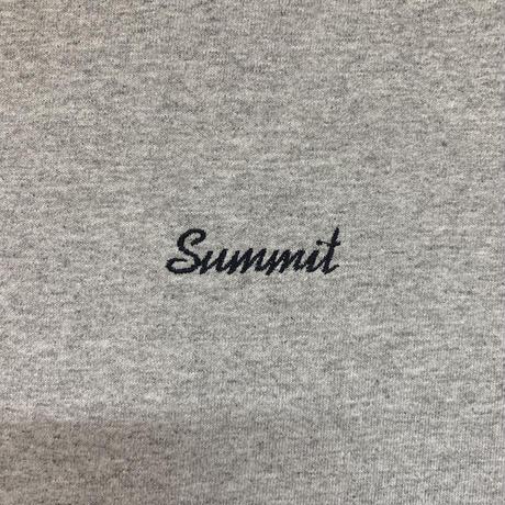 SUMMIT W-Side Logo Long Sleeve T-Shirts (Grey)