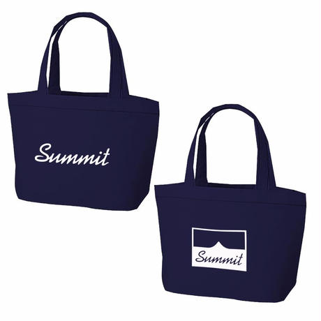 SUMMIT Logo Tote Bag Navy(S)