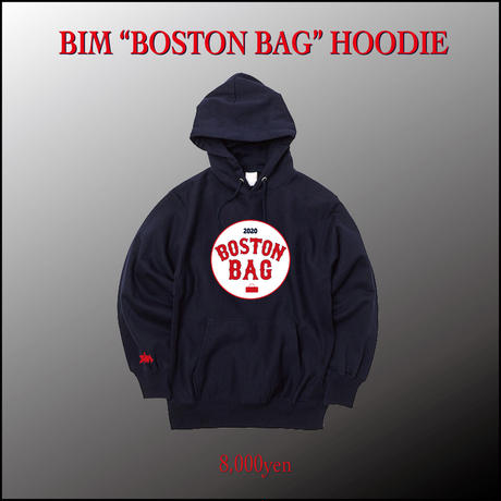"BIM ""BOSTON BAG"" HOODIE"
