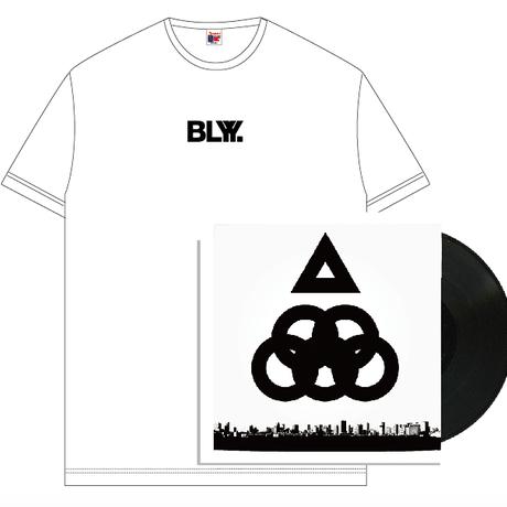 """BLYY """"OYKOT / Papersoul 12 inch Single"""" T-Shirts Set(White)【受注期間 9/16(月) 23:59まで】"""