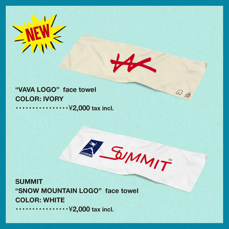 VaVa LOGO face towel