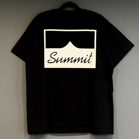 SUMMIT W-Side Logo T-Shirts Black