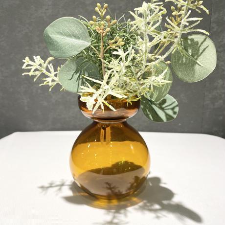 Bulb Vase Amber