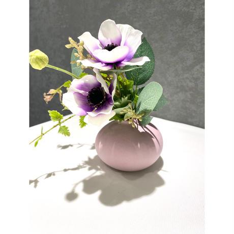 Flower Pot Pink Purple