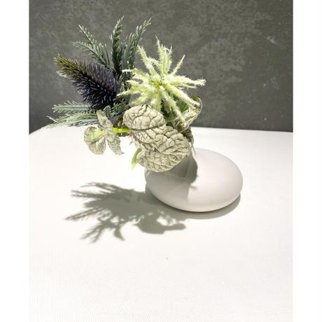 Flower Pot White