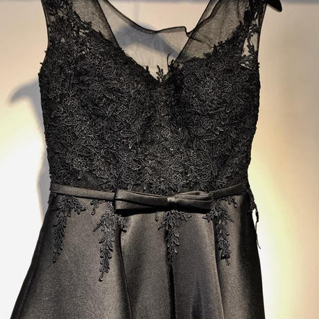DRESS for ANNE falling love with cellist [BLACK]