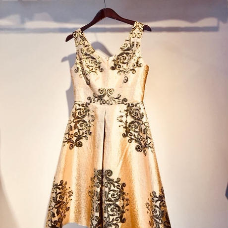 DRESS for MEG Enjoy Friday Night [GOLD]
