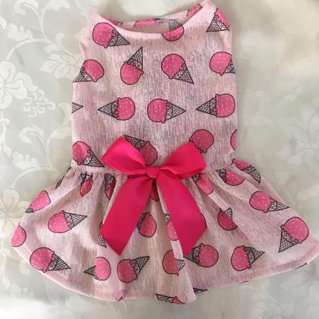 アイスクリームワンピース  ピンク
