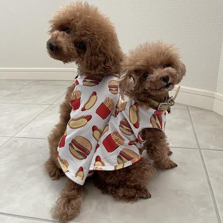 メッシュハンバーガーシャツ